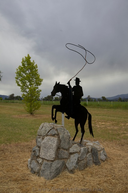 A Corryong Welcome Man From Snowy RIver