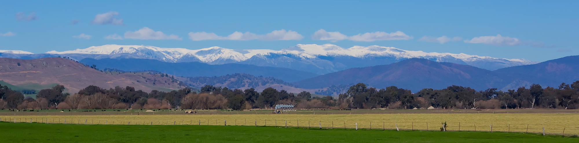 Winter Rural View Upper Murray