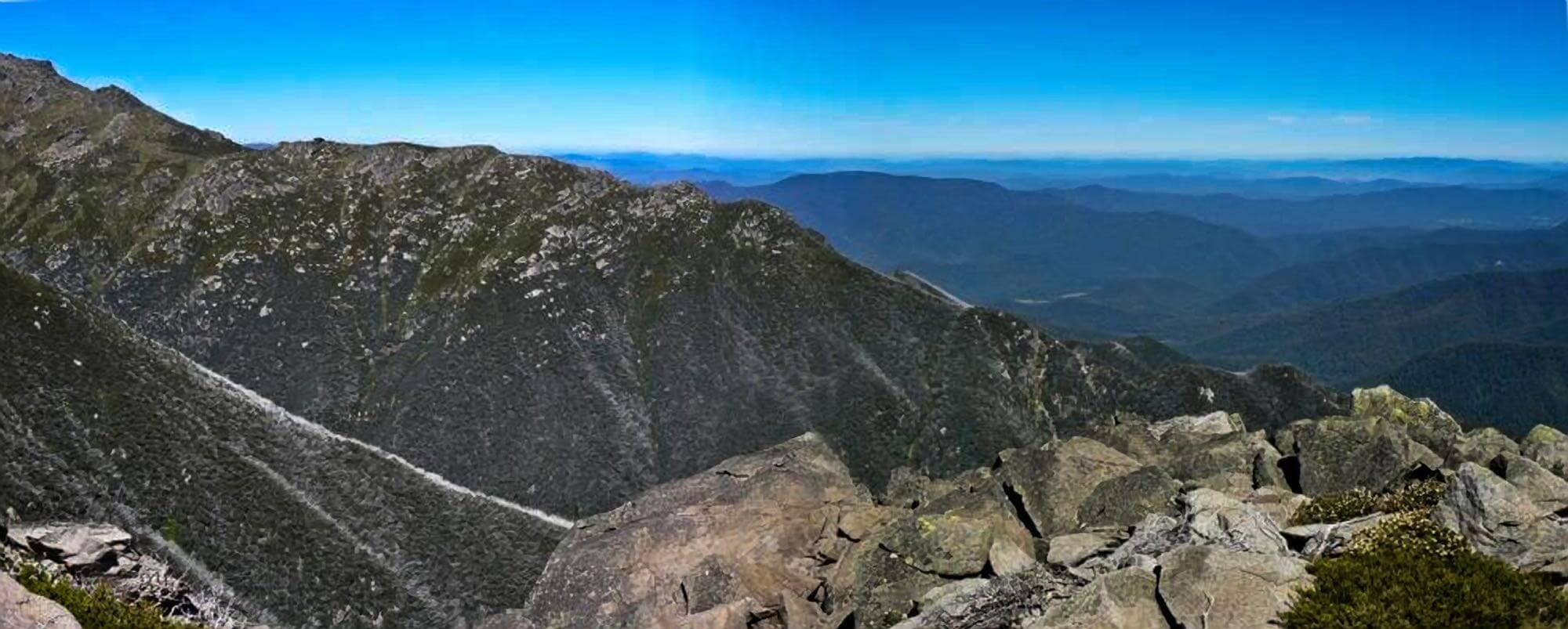 Kosciuszko Towards Upper Murray from Sentinel