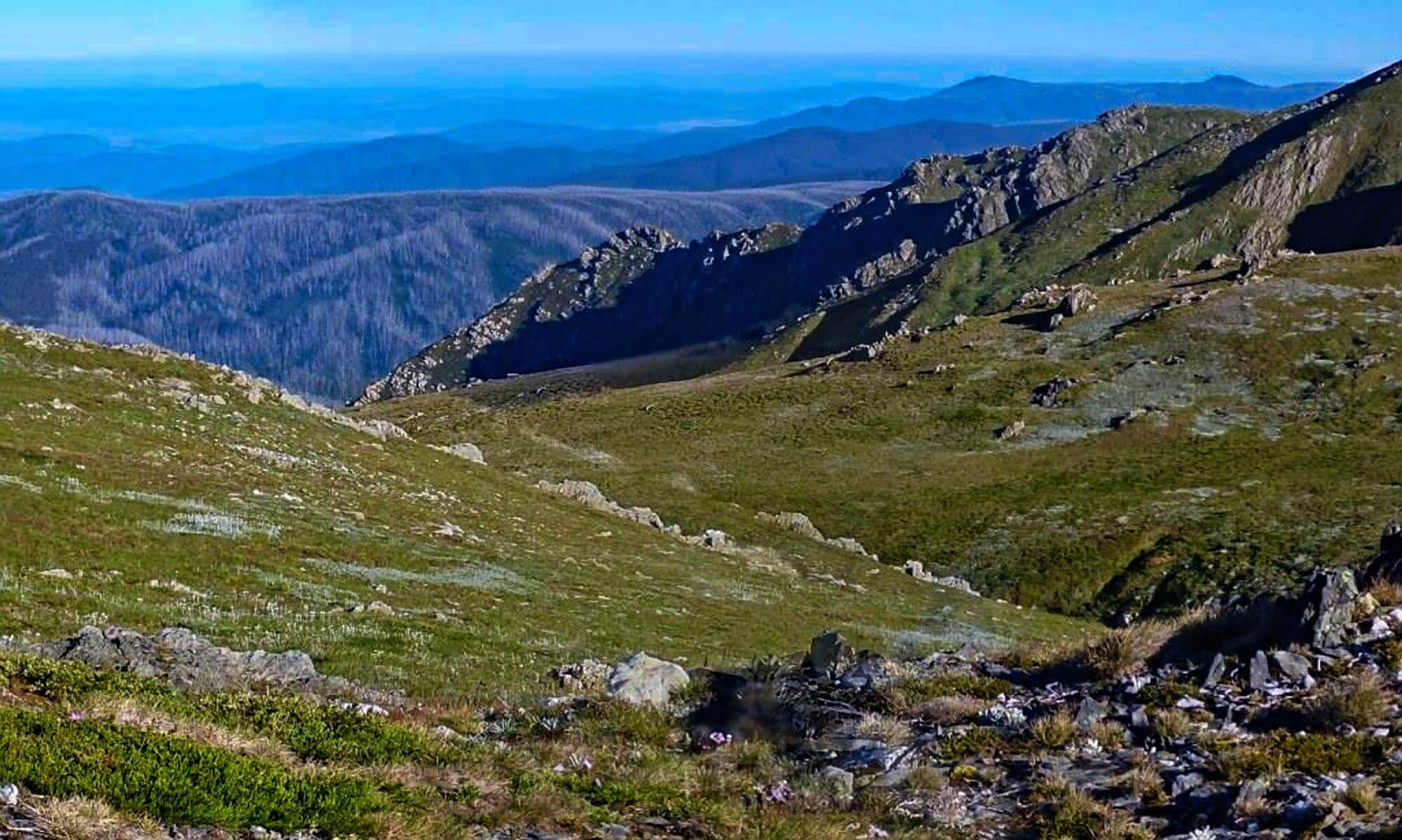 Kosciuszko West to the Sentinel and Upper Murray
