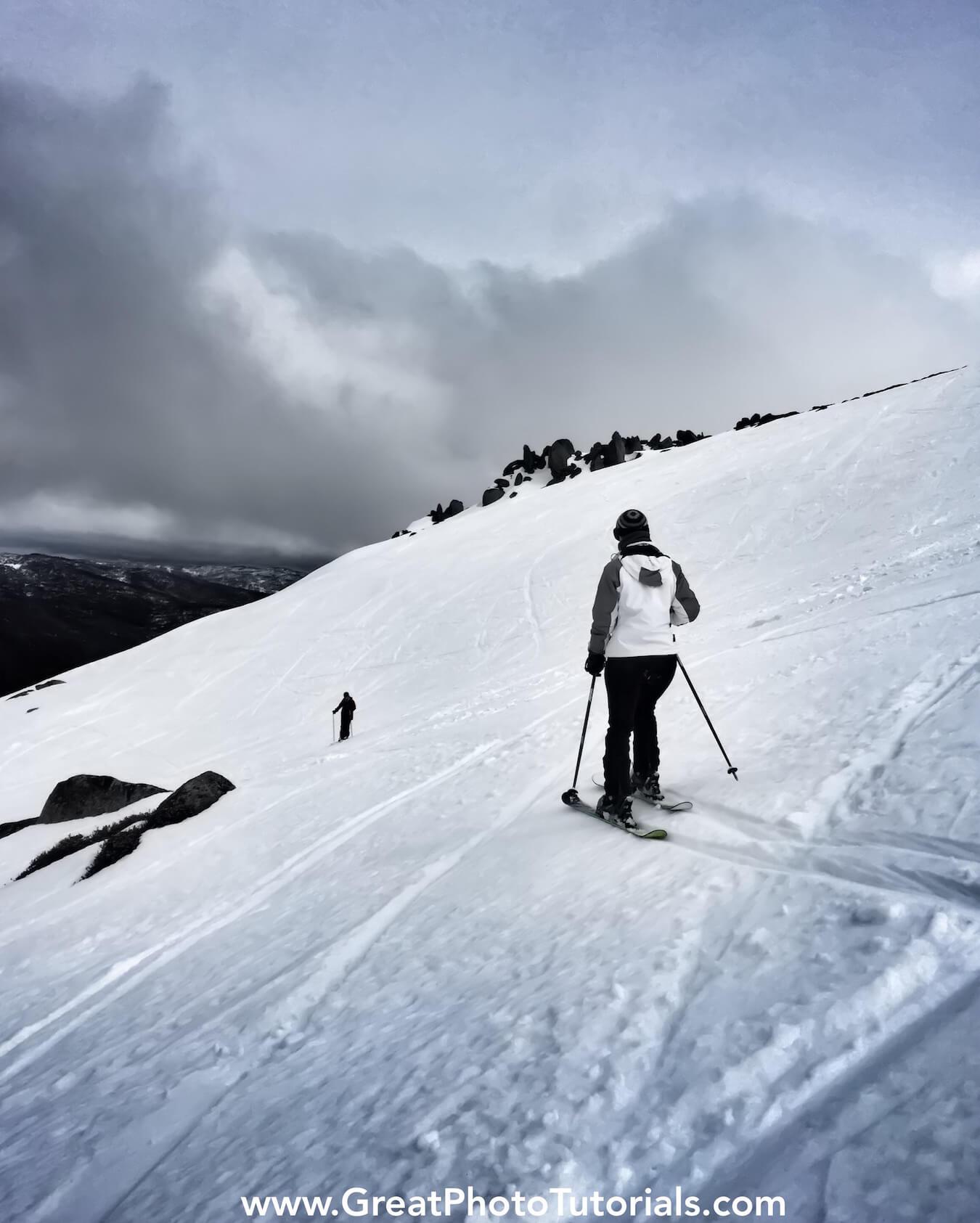 Skiing Thredbo