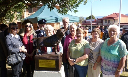 MFSR Tourist Association Committee Members at unveiling of Horrie